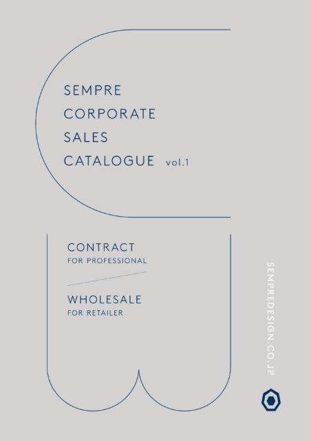 SEMPRE CORPORATE SALES CATAROGUE Vol.1の画像