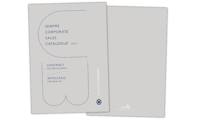 SEMPRE CORPORATE SALES CATALOGUE Vol.1-2の画像